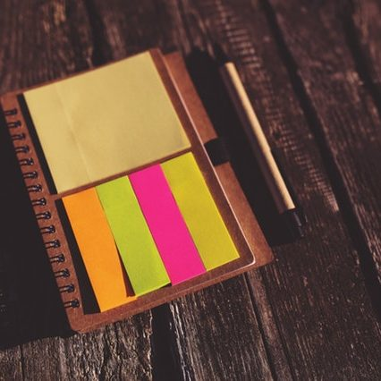 office-notes-colorful-paper